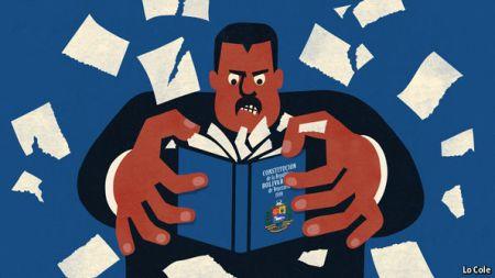 Buhola-el-pequeno-libro-azul-de-hugo-chavez-que-quiere-violar-nicolas-maduro